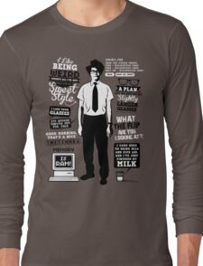 Moss Quotes  Long Sleeve T-Shirt