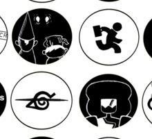 Monochromatic Bubbles Sticker