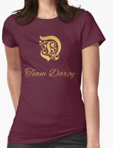 Team Darcy Initial Womens Fitted T-Shirt