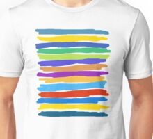 Brush Strokes #1 - Edison Unisex T-Shirt