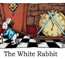 WHITE RABBIT by KarienNaude