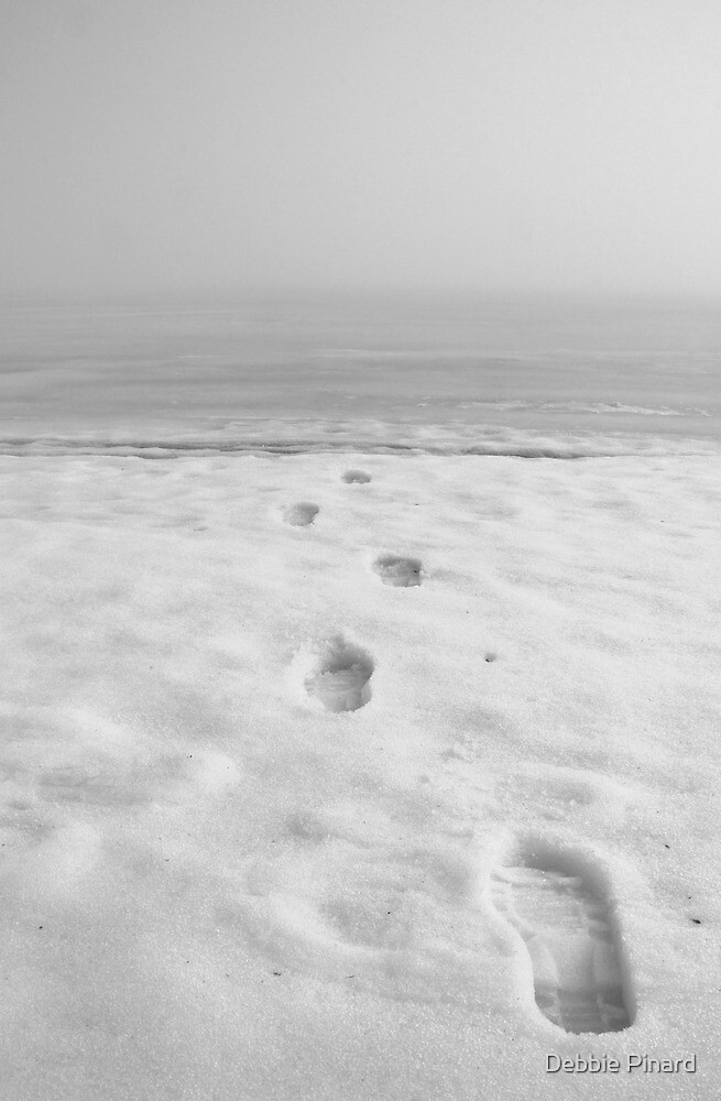 Footsteps to Nowhere by Debbie Pinard