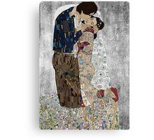 Han and Leias's the kiss Canvas Print