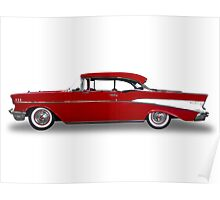 Chevrolet - 1957 BelAir Coupe Poster