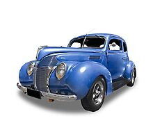 Ford - 1938 Coupe Photographic Print