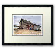 Cundy's Harbor Maine Framed Print