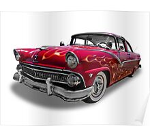 Ford - 1955 Fairlane Coupe Sedan Poster