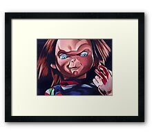 Bloodychuck Framed Print