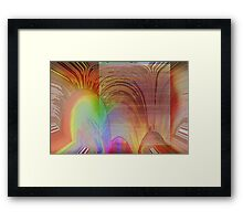 Radiation #3 Framed Print