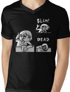 Kim Pine - Gun Mens V-Neck T-Shirt