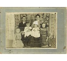 Family Retro Photographic Print