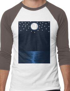 By the Moon Men's Baseball ¾ T-Shirt