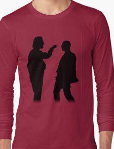 Bottom silhouette - Richie and Eddie Long Sleeve T-Shirt