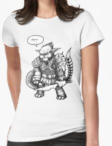Mr Tiddles Womens Fitted T-Shirt