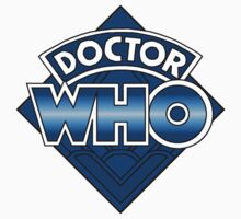 Doctor Who Diamond Logo - Blue by bluedisc