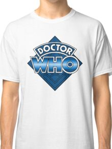 Doctor Who Diamond Logo - Blue Classic T-Shirt