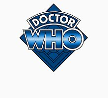 Doctor Who Diamond Logo - Blue Unisex T-Shirt