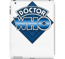 Doctor Who Diamond Logo - Blue iPad Case/Skin