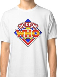 Doctor Who Diamond Logo - Colourful Classic T-Shirt