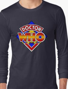 Doctor Who Diamond Logo - Colourful Long Sleeve T-Shirt