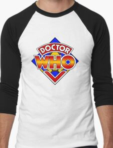 Doctor Who Diamond Logo - Colourful Men's Baseball ¾ T-Shirt