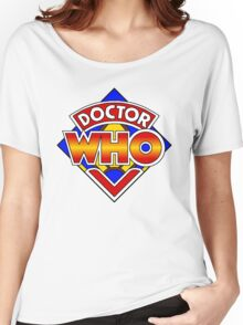 Doctor Who Diamond Logo - Colourful Women's Relaxed Fit T-Shirt
