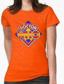 Doctor Who Diamond Logo - Colourful Womens Fitted T-Shirt