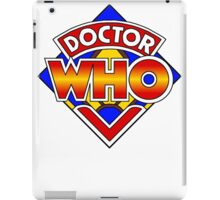 Doctor Who Diamond Logo - Colourful iPad Case/Skin