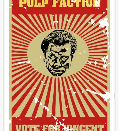 Pulp Faction - Vincent Sticker