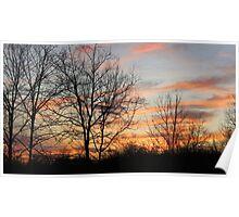 Kentucky Sunset Poster