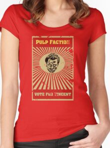 Pulp Faction - Vincent Women's Fitted Scoop T-Shirt