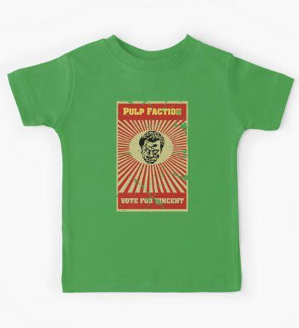 Pulp Faction - Vincent Kids Tee