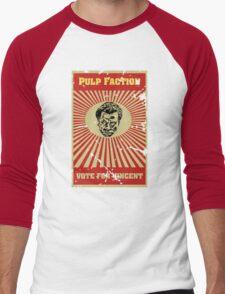 Pulp Faction - Vincent Men's Baseball ¾ T-Shirt