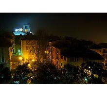 Palma City Streets on a Misty Night Photographic Print