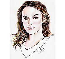 Keira Knightley Photographic Print