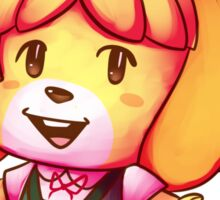 Animal Crossing New Leaf Isabelle Sticker