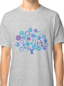 tree of life - blue blossoms Classic T-Shirt