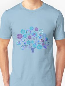 tree of life - blue blossoms Unisex T-Shirt
