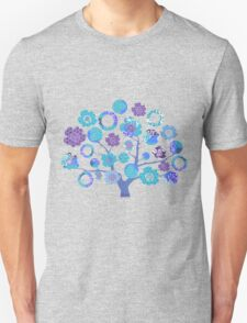 tree of life - blue blossoms T-Shirt