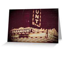 Paramount Greeting Card