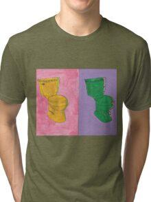 Toilet Pop Art Tri-blend T-Shirt