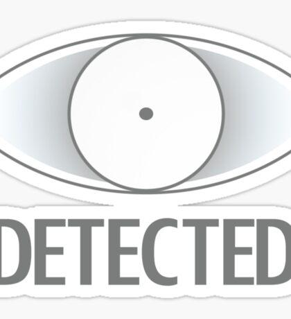 Detected Sticker