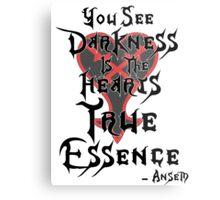 Kingdom Hearts: Ansem Quote  Metal Print