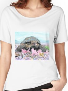 Roxy the Turtle Women's Relaxed Fit T-Shirt
