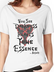 Kingdom Hearts: Ansem Quote  Women's Relaxed Fit T-Shirt