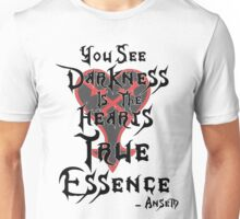 Kingdom Hearts: Ansem Quote  Unisex T-Shirt