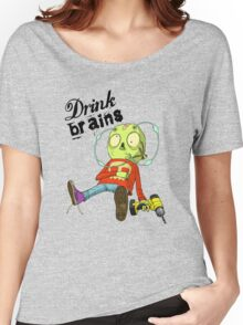 Drink Brains Women's Relaxed Fit T-Shirt