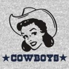 Cowboys Cowgirl by pinballmap13