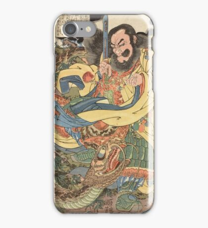 Man vs. Dragon iPhone Case/Skin