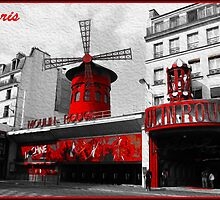 Moulin Rouge, in Paris by superpixus